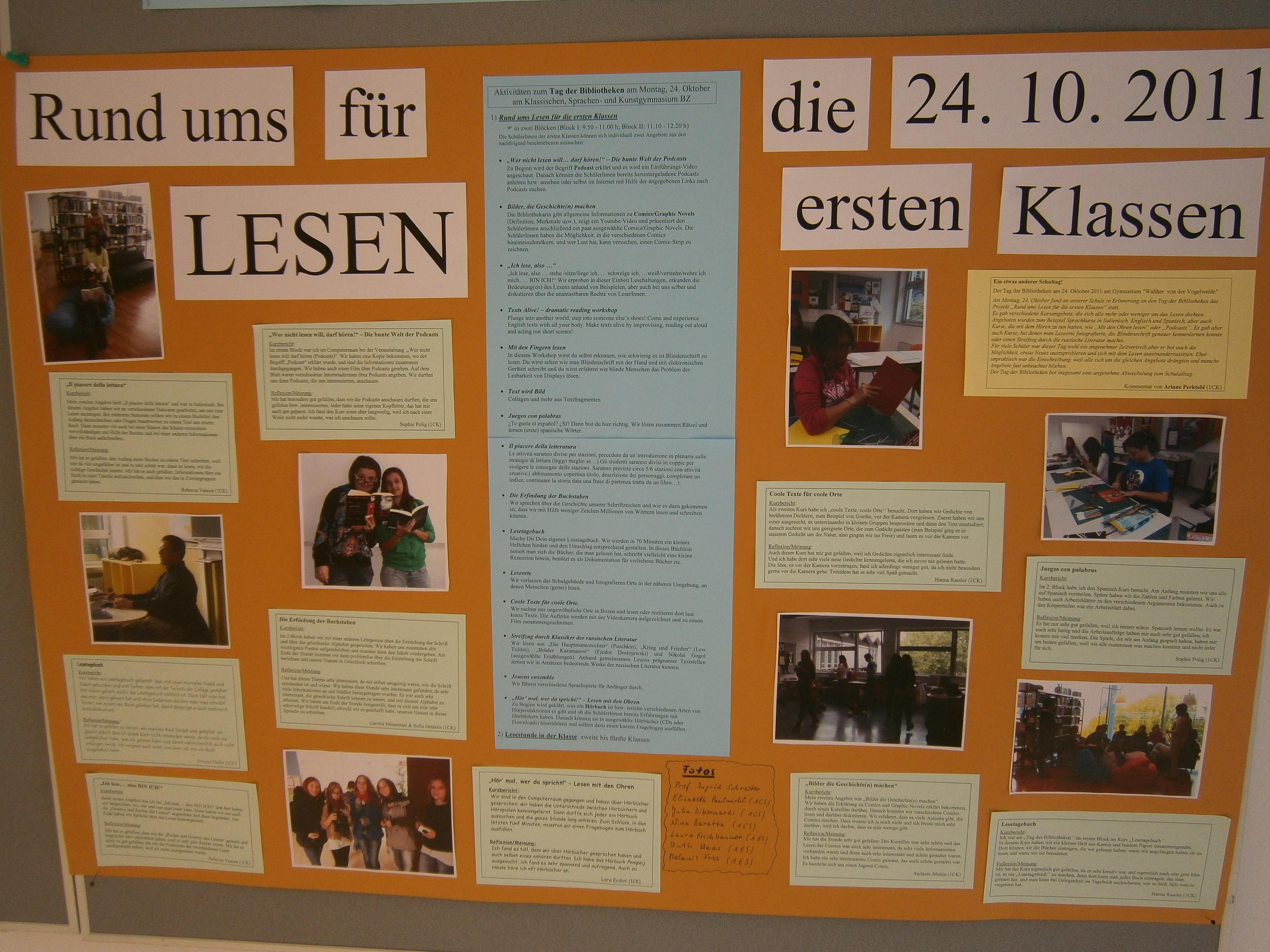 Plakat zum Tag der Bibliotheken | Bibliotheksblog des Gymnasiums W ...